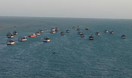 India fishing in troubled Sri Lankan waters