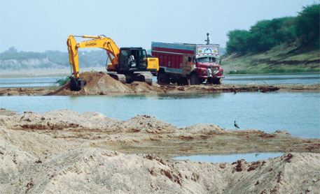 Green tribunal dismisses Madhya Pradesh's plea on sand mining