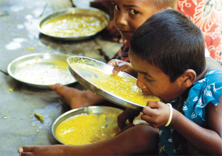 Chronic hunger in South Asia has actually decreased, albeit slowly