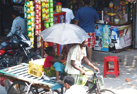 Did climate change trigger heat wave in India and other nations in 2014?
