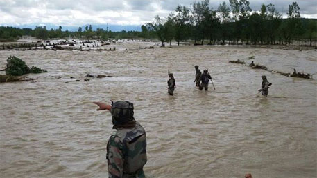 Monsoon brings flood fury to India
