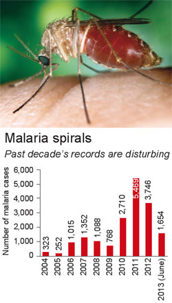 Malaria cases rise in Valsad