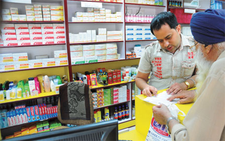 Drug firms, retailers on warpath