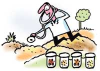 Health check-up for fields