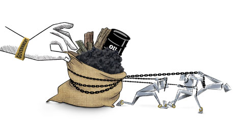 Battle over oil, coal & forests