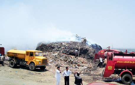 People of Uruli Devachi village are up against the Pune Municipal Corporation for dumping waste at the landfill there