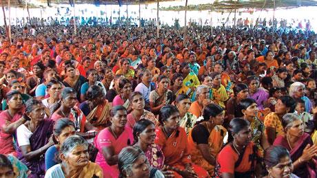 Anti-nuke protests in Tamil Nadu