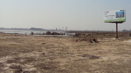 Real estate invades Dadri wetland