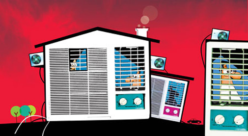 Your air-conditioner can't keep you safe from Delhi's noxious air