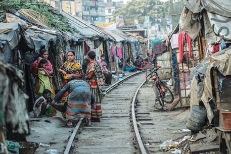 Slums are a living critique of the dominant socio-political order of the cities