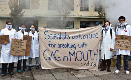 Scientists talk back
