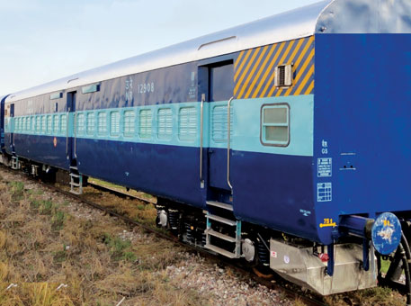Indian Railways has installed bio-toilets in 34 coaches of the Ujhavan Express