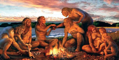 As life became hectic, people no longer had the patience of the early man to cook their food