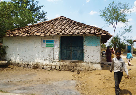 Kheriveer village in Madhya Pradesh's Sagar district has one bank, but people have to travel five kilometres to avail banking services. Reason: the banking correspondent now operates out of his stationery shop in the market area