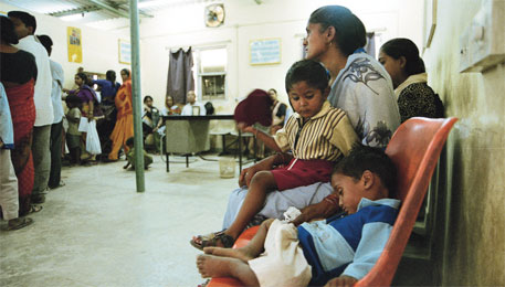 Delhi hospitals freed of poor