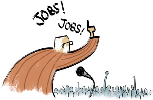 We create jobs-for the US