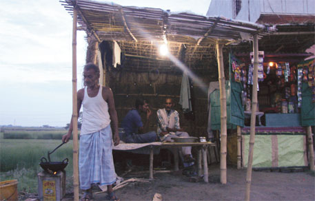 People in Sahebganj used to spend `250 on kerosene-generated electricity in a month. Now they pay `50 a month for a 15 Watt connection for six hours a day