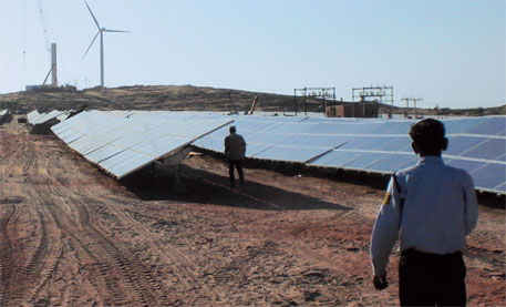 Big solar projects favoured over mini grids