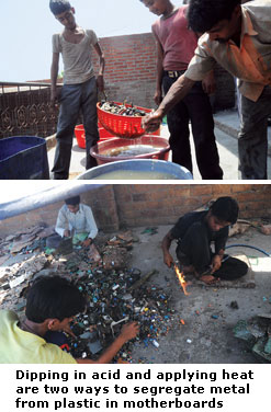 E-waste recycling hub: Moradabad