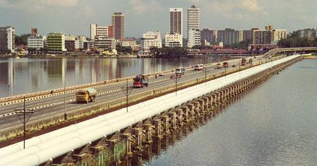 Singapore taps its water