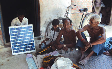 Till March this year, 55,555 households had bought solar home lighting systems in Uttar Pradesh