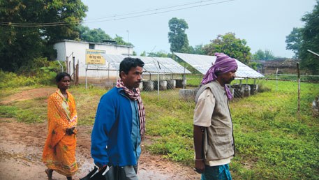 Chhattisgarh installed the first micro-grid in 2004