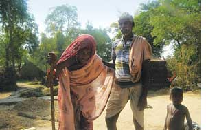 A village crippled by fluorosis