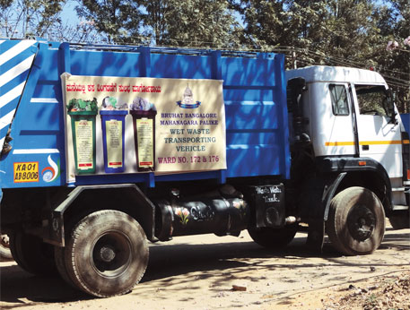 BBMP's new wet waste carrier: all investment, no implementation