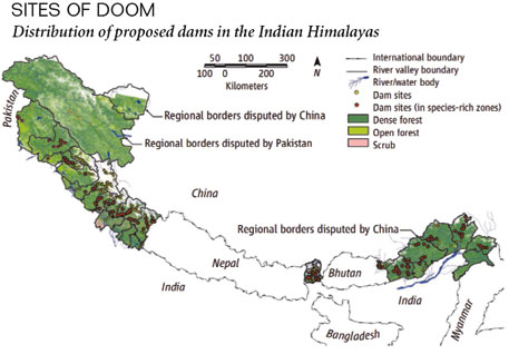 Himalayan destruction