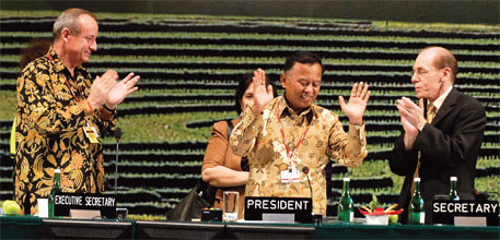 Adaptation, the key issue in COP-13 held in Bali, is still unaddressed