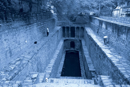 Rajon ki Baoli of the Lodhi period in Mehrauli