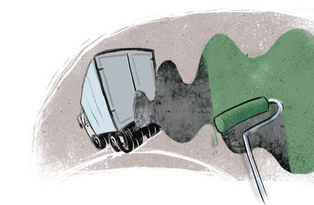 Greening food transport