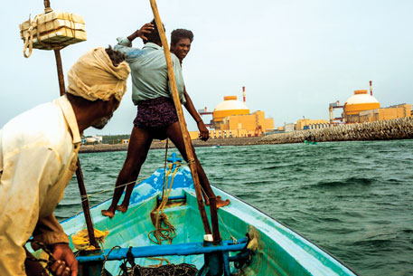 India is going ahead with the Kudankulam nuclear project despite fierce opposition from the people
