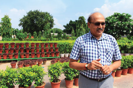 K Vinod Prabhu, the plant breeder