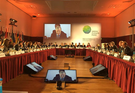 Countries pledge US $9.3 billion to Green Climate Fund