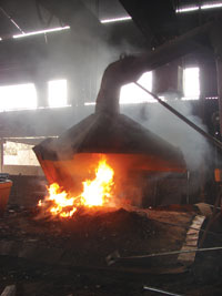 Uncontrolled emissions at Kotdwar Steels