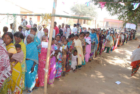 Jharkhand braves bullets to create polling record