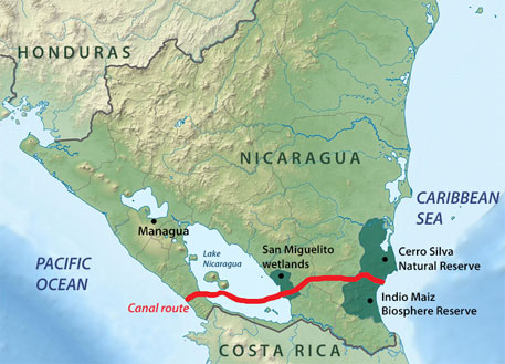 Proposed Nicarguan canal to upset ecological balance on massive scale