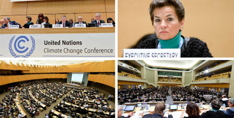 Geneva climate talks: countries agree on draft text for Paris deal