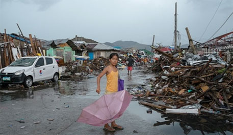 22 million people displaced by natural disasters globally last year