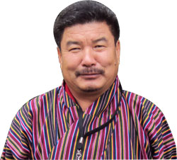 Ugyen Tshewang, secretary, National Environment Commission of Bhutan
