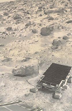 Earth's ambassador: the lander's view of the Sojourner