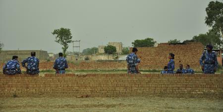 Protesting villages under siege