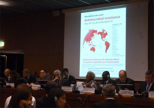 Day 2: countries share their experiences of fighting antimicrobial resistance