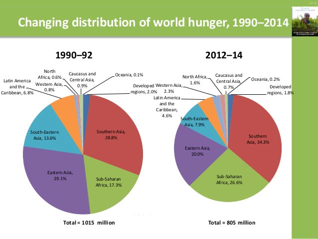 the issue of global hunger in the world