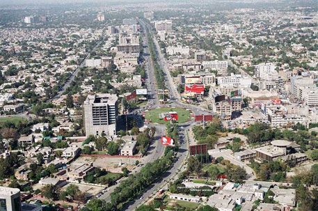 Increased urbanisation is one of the causes of environmental degradation in Pakistan (Photo credit: Wikipedia)