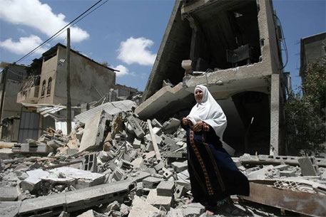 Gaza Strip shortages now include food, water and electricity