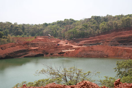 Most of the mining activity in Goa has been concentrated in the Western Ghats in and around national parks and wildlife sanctuaries (Credit: Sunita Narain)
