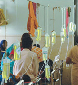 Nursing home in Dhanbad operates on patient's attendant