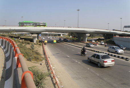 Delhi's accident hot spots